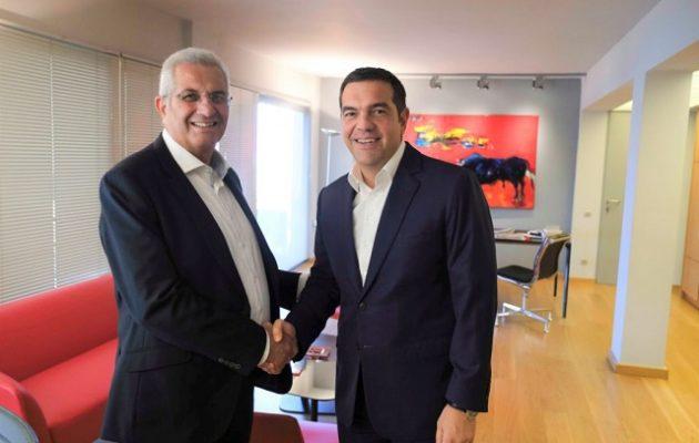 Τσίπρας και Κυπριανού μίλησαν για Κυπριακό και ΑΟΖ