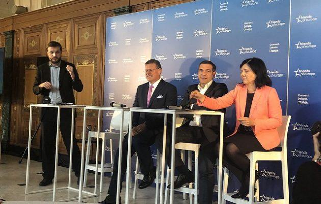 Τσίπρας: Οι τέσσερις προκλήσεις που αντιμετωπίζει η Ε.Ε.