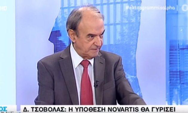 Δημ. Τσοβόλας: «Θα γυρίσει μπούμερανγκ στη ΝΔ η Novartis» – Τι είπε για τα στοιχεία του FBI