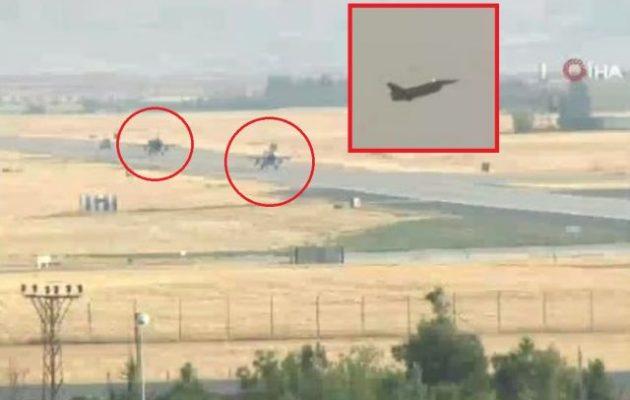 Τουρκικά αεροπλάνα απογειώνονται και βομβαρδίζουν Κούρδους – Δεν υπάρχει απαγόρευση πτήσεων