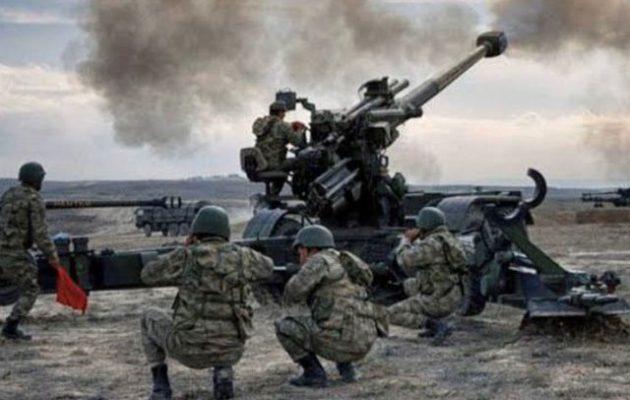 Οι Τούρκοι βομβαρδίζουν κουρδικές θέσεις των SDF στη βόρεια Συρία