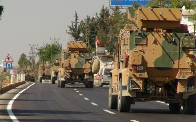 Οι Τούρκοι έστειλαν 100 τεθωρακισμένα με κομάντος προς τη Μανμπίτζ