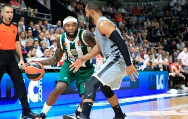 Euroleague: Ο Παναθηναϊκός έχασε 79-78 από τη Βιλερμπάν