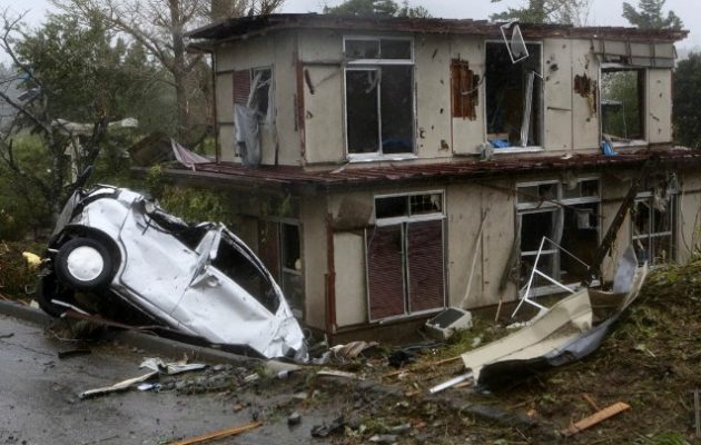 Ιαπωνία: Στους 18 οι νεκροί από το πέρασμα του τυφώνα Χαγκίμπις