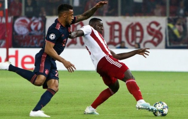 Champions League: Άδικη ήττα για τον Ολυμπιακό 3-2 από την Μπάγερν