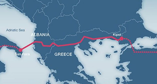 Ξεκίνησε η δοκιμαστική λειτουργία του αγωγού TAP σε ελληνικό έδαφος