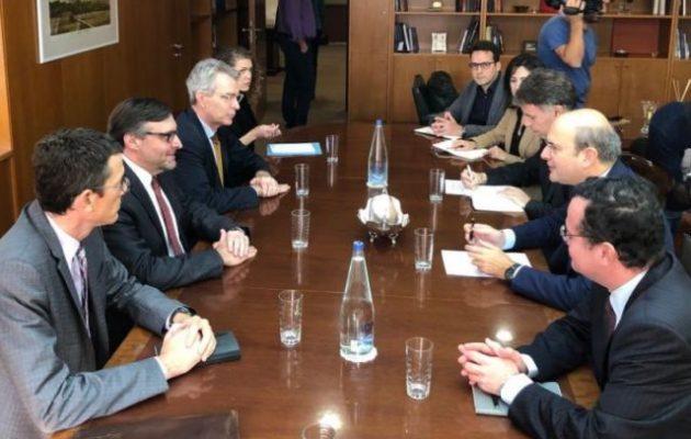 Η Ελλάδα περιφερειακός ενεργειακός κόμβος το θέμα συζήτησης Χατζηδάκη-Πάλμερ
