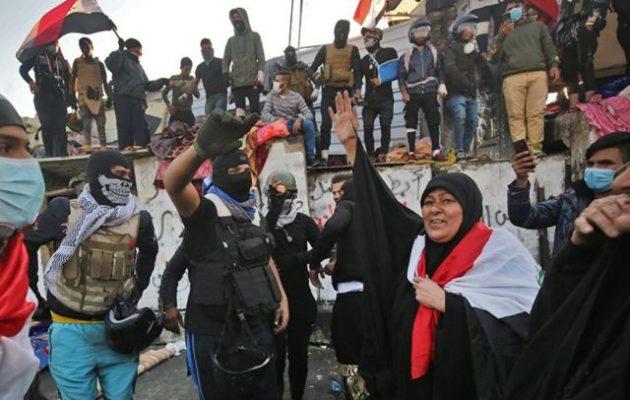 Δύο νεκροί και 38 τραυματίες σε διαδήλωση στη Βαγδάτη