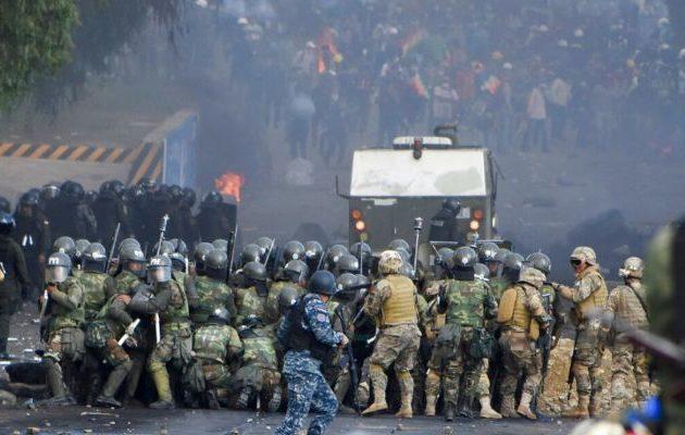 Συγκρούσεις με νεκρούς στη Βολιβία – Στα πρόθυρα εμφυλίου η χώρα