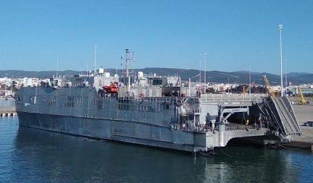 Το USNS Carson City στο λιμάνι της Αλεξανδρούπολης – Αναμένεται και ο Αμερικανός διοικητής Ευρώπης