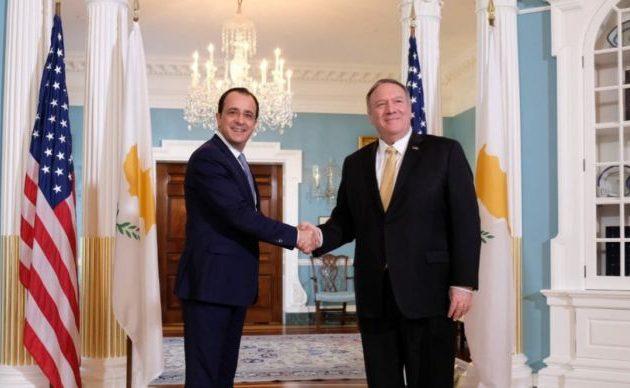 Νίκος Χριστοδουλίδης: Ξεκάθαρο το ενδιαφέρον των ΗΠΑ στην Ανατ. Μεσόγειο