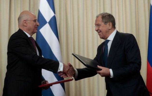 Νίκος Δένδιας: Αναθέρμανση των σχέσεων της Ελλάδας με τη Ρωσία