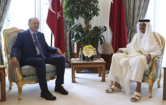 Κατάρ στηρίζει τον Ερντογάν με 15 δισ. δολάρια για να μην καταρρεύσει