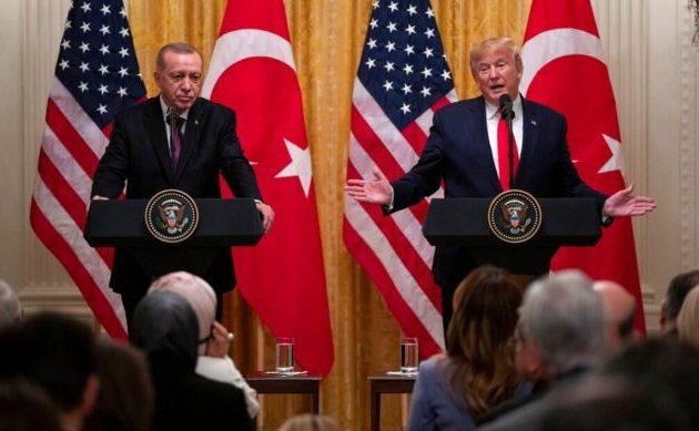 «Μεγάλος οπαδός του Ερντογάν» δήλωσε ο Τραμπ – Όλη η συνέντευξη Τύπου