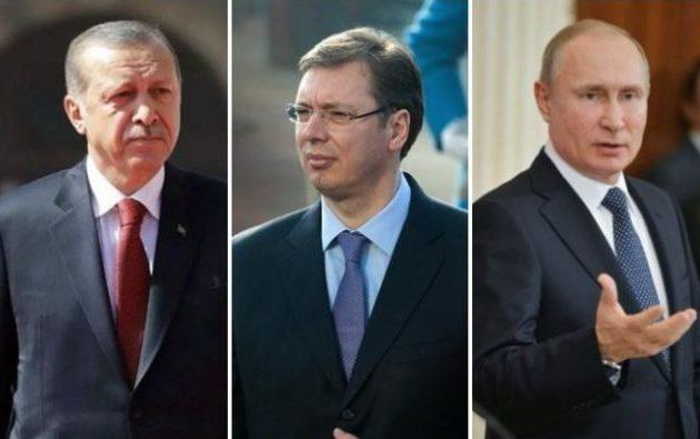 Ο Πούτιν «φέρνει κοντά» Σερβία και Τουρκία – Η Αθήνα παρακολουθεί «ατάραχη»