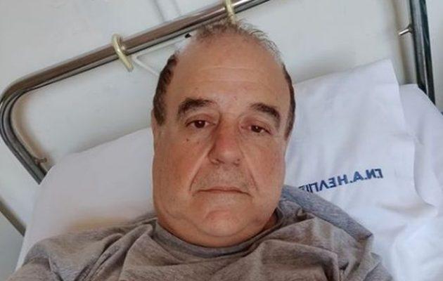Επειγόντως στο νοσοκομείο ο Παύλος Χαϊκάλης – Τι συμβαίνει (φωτο)
