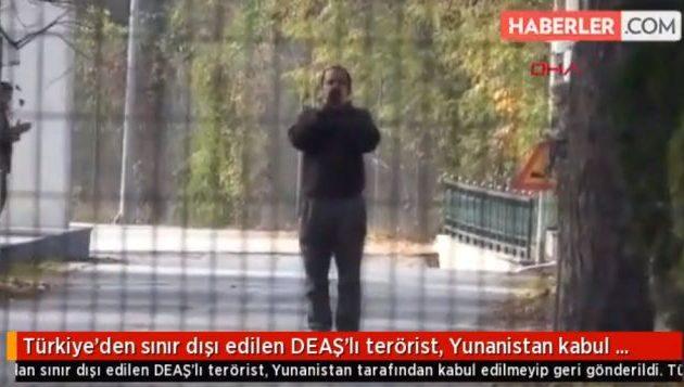 Οι Τούρκοι «άφησαν» έναν Αμερικανό φερόμενο τζιχαντιστή έξω από τα σύνορά μας στον Έβρο