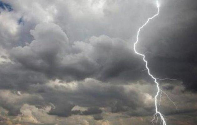 Καιρός: Καταιγίδες, χαλάζι και ισχυροί άνεμοι τον Δεκαπενταύγουστο – Που θα «χτυπήσει» η κακοκαιρία