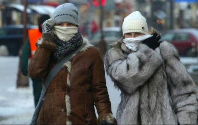 Ψυχρή σιβηρική εισβολή ρίχνει κάθετα τη θερμοκρασία από την Κυριακή – Κορύφωση την Τρίτη