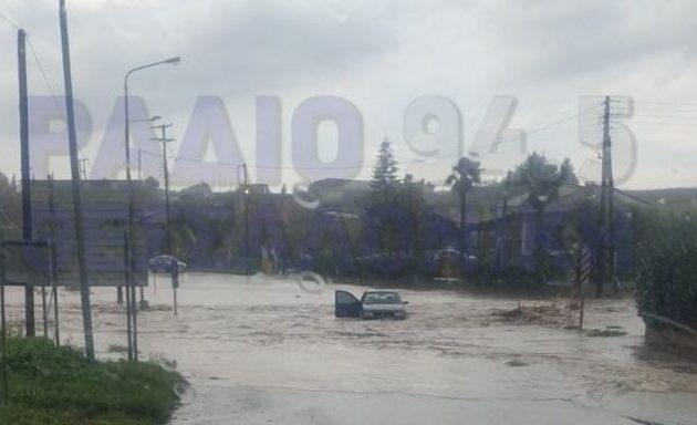 Κατακλυσμός στην Κεντρική Μακεδονία – Ο «μακεδονομάχος» Τζιτζικώστας «πνίγηκε» από τον καιρό