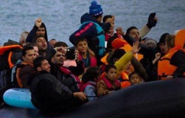 «Τσουνάμι» οι μετανάστες από τον Ερντογάν – 449 έφτασαν στα νησιά μας μέσα σε 13 ώρες