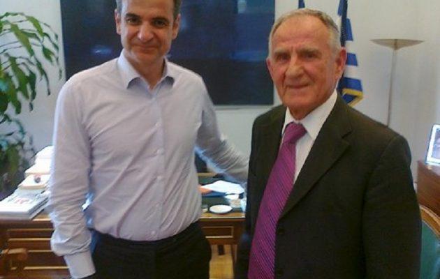 Ο Μητσοτάκης είχε συναντηθεί με τον 80χρονο διοικητή! Εκεί του έταξε το ρουσφέτι;