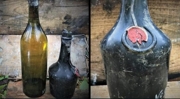 Βρέθηκαν 900 μπουκάλια με σπάνια κονιάκ και λικέρ σε πλοίο που βυθίστηκε στον Α' Παγκόσμιο Πόλεμο