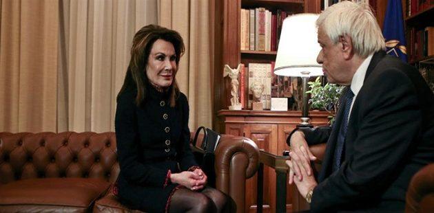 Τι είπε ο Παυλόπουλος στη Γιάννα Αγγελοπούλου στο Προεδρικό Μέγαρο