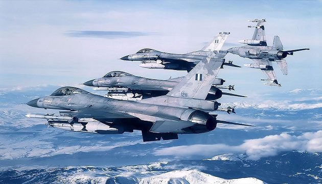 Μεγάλη κοινή άσκηση ετοιμάζουν ελληνική και βελγική Πολεμική Αεροπορία