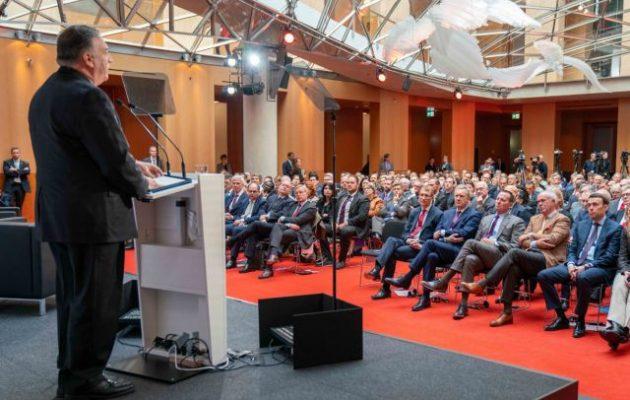 Μάικ Πομπέο: «Η Κίνα διαμορφώνει ένα νέο όραμα αυταρχισμού»
