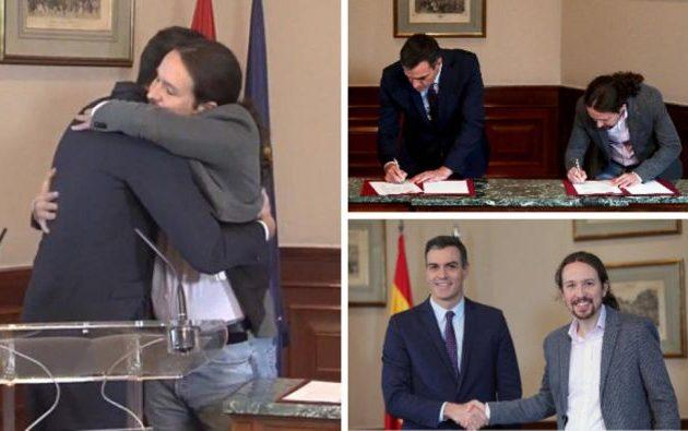 Ισπανία: Σοσιαλιστές και Podemos συμφώνησαν να σχηματίσουν προοδευτική κυβέρνηση
