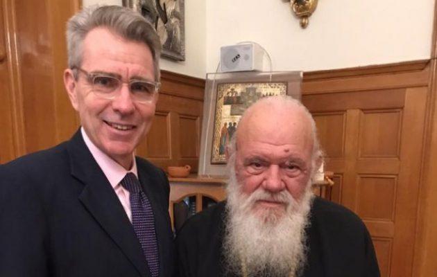 Ο Τζ. Πάιατ συναντήθηκε με τον Αρχιεπίσκοπο – Οι ΗΠΑ στο πλευρό της Ελληνορθοδοξίας
