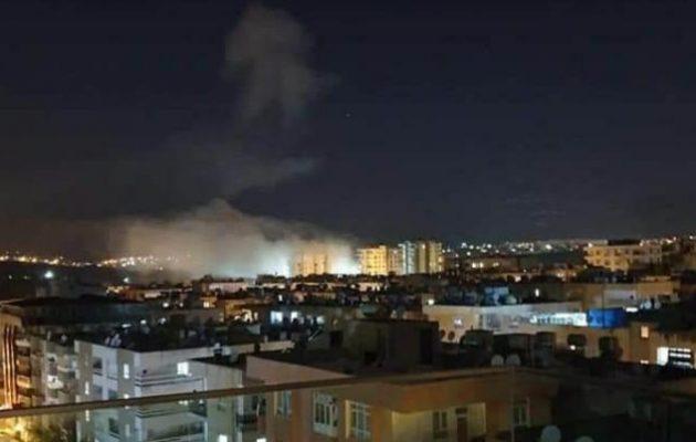 Ανατινάχτηκε αποθήκη πυρομαχικών στη νότια Τουρκία (βίντεο)