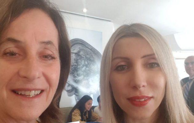 Η πρέσβης της Κύπρου στο Ισραήλ «σέλφι» με την Ιρίτ Μπεν Αμπά – Ισχυρές φιλίες, ισχυρές συμμαχίες