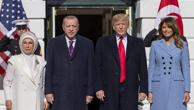 Στον Λευκό Οίκο ο Ερντογάν – Τραμπ: «Είμαστε φίλοι εδώ και πολύ καιρό»