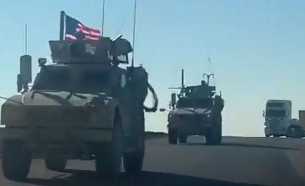 Η αμερικανική φάλαγγα που δέχτηκε πυρά από μισθοφόρους της Τουρκίας υποχώρησε σε ιρακινό έδαφος