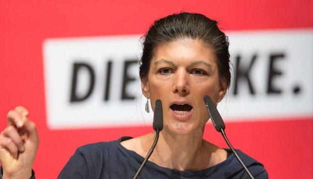 Η Αριστερή Σάρα Βάγκενκνεχτ είναι η δημοφιλέστερη πολιτικός στη Γερμανία