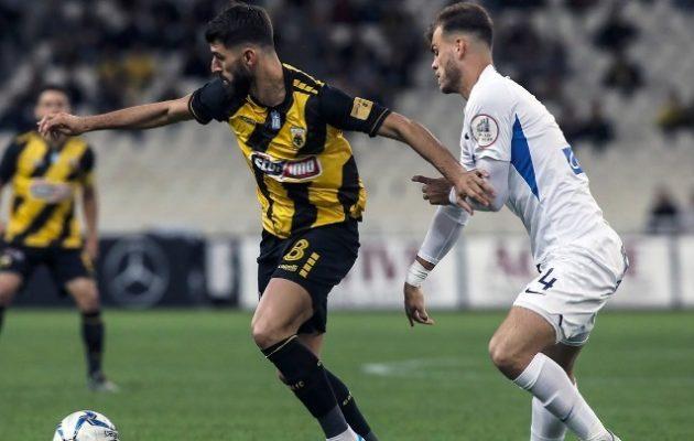Η ΑΕΚ νίκησε 3-2 τον Ατρόμητο με γκολ στις καθυστερήσεις