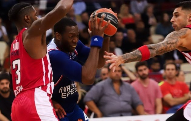 Euroleague: Παραπαίει ο Ολυμπιακός, έχασε και από την Ανατολού Εφές στο ΣΕΦ