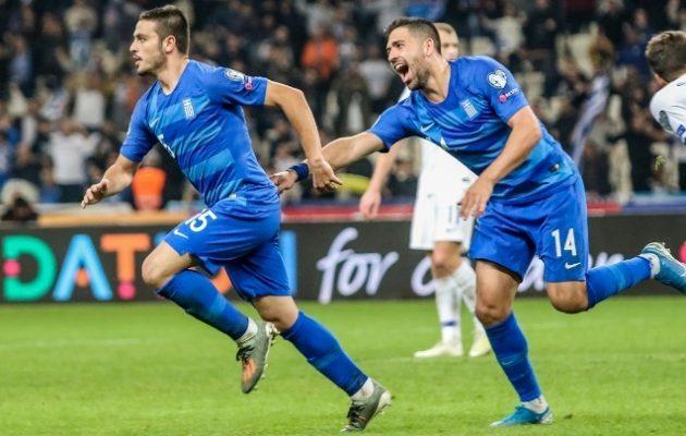 Νίκη της Εθνικής Ελλάδος με 2-1 επί της Φινλανδίας, αλλά χωρίς αντίκρισμα