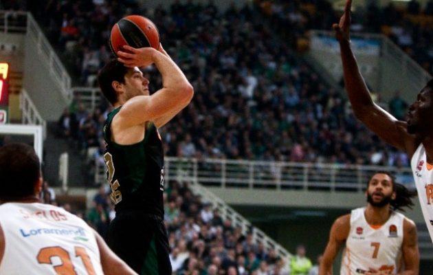Euroleague: Ο Παναθηναϊκός του Πιτίνο «φιλοδώρησε» με 100αρα τη Μπασκόνια