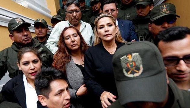 Νέες εκλογές προαναγγέλλει η διάδοχος του Μοράλες στη Βολιβία