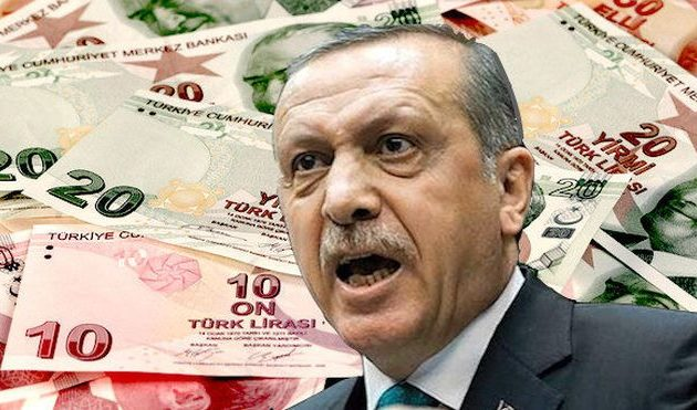 Ο Ερντογάν ξεπλένει μαύρο χρήμα για να σώσει την οικονομική φούσκα του
