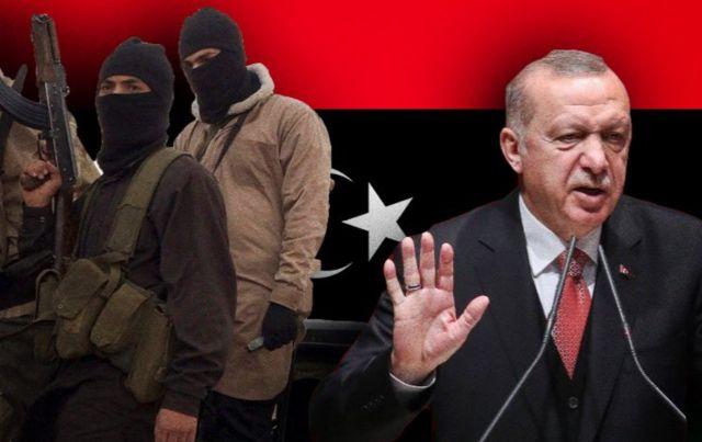 Η Τουρκία μεταφέρει όπλα στη Λιβύη με πλοία της Χεζμπολάχ δηλαδή ...
