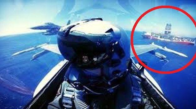 Ισραηλινά F-16 «λόκαραν» με πυραύλους «Δαλιδά» το «Γιαβούζ» – «Έτσι θα σας βυθίσουμε»