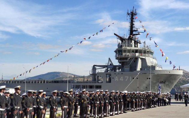 Ο εφοπλιστής Λασκαρίδης δώρισε και τρίτο πλοίο στο Πολεμικό Ναυτικό