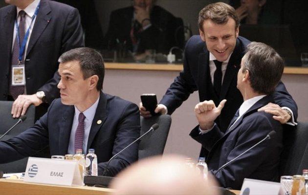 Στήριξη Μακρόν σε Ελλάδα και Κύπρο απέναντι στις τουρκικές προκλήσεις