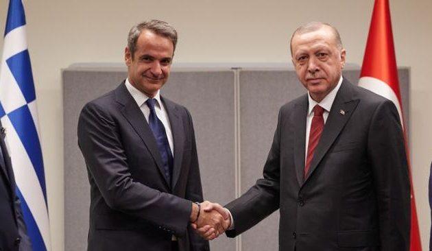 Ο Μητσοτάκης ζήτησε συνάντηση με τον Ερντογάν στο Λονδίνο; – «Μάλλον» είπε ο Τούρκος