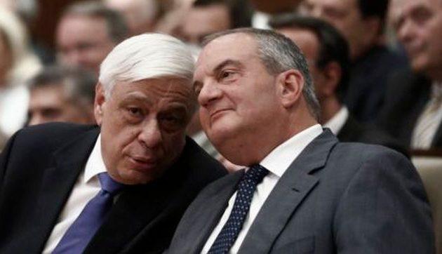 Μυστική συνάντηση Παυλόπουλου-Καραμανλή στην «Παναγή Κυριακού»