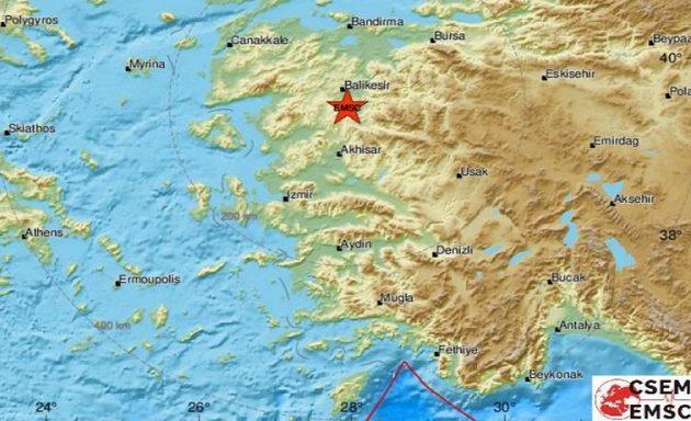 Τρέμει η γη στην Τουρκία: Νέος σεισμός σε διάστημα δέκα λεπτών